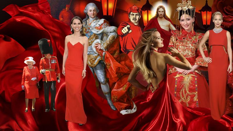 Historia czerwieni