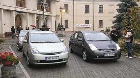 Eko Rajd Toyoty Prius