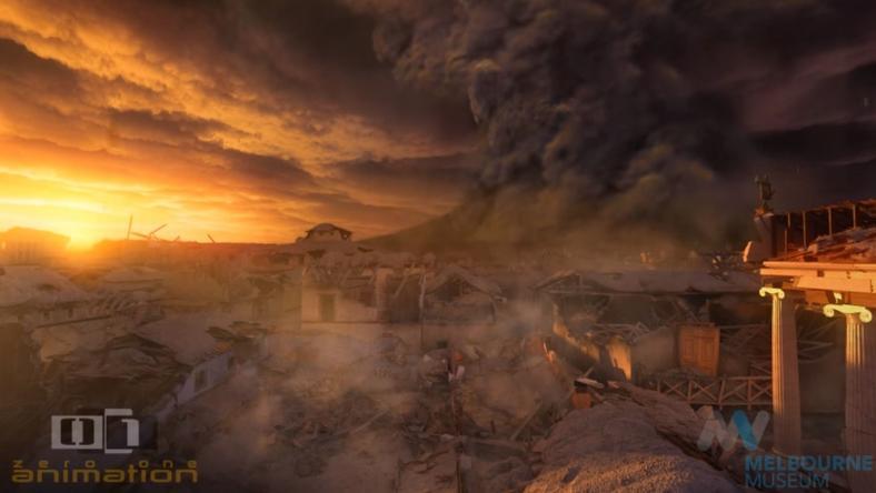 Ilyen volt az apokalipszis Pompeiben / fotó: Youtube