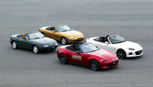 Mazda wyprodukowała milion egzemplarzy MX-5