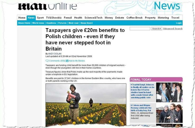 Polacy bez zasiłków na dzieci w Wielkiej Brytanii?!