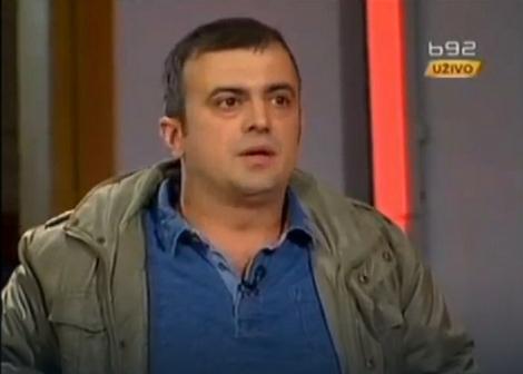 Dolazi u studio s transparentom: Sergej Trifunović