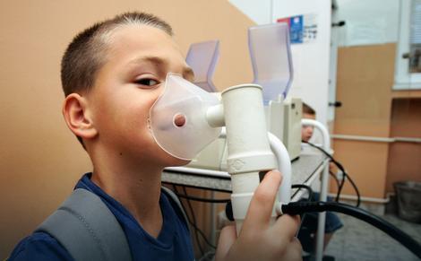 Ako je došlo do suženja disajnih puteva, neophodne su inhalacije
