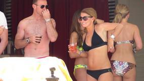 Rooney zapomniał o mundialu. W Vegas imprezuje razem z żoną