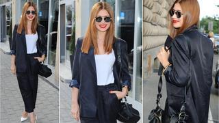 Best Look: Ada Fijał w stylowym komplecie