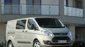 Ford Transit Custom: osobowy dostawczak