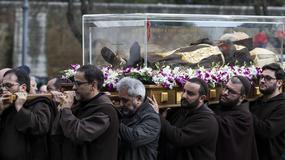 Do Rzymu po raz pierwszy przywieziono szczątki św. ojca Pio