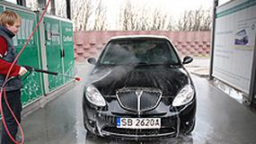 Zmyj zimę z samochodu