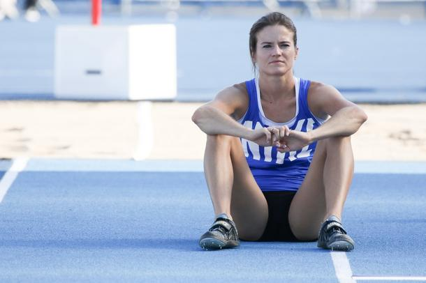 Lekkoatletka Anna Jagaciak w roli modelki