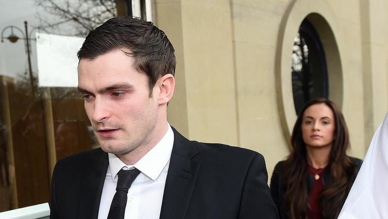 Adam Johsont bűnösnek találták, börtönbe kell vonulnia /Fotó: AFP