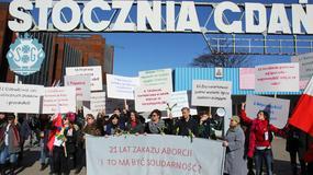 """Trójmiejska Manifa pod hasłem """"Solidarność? 21 lat zakazu aborcji"""""""