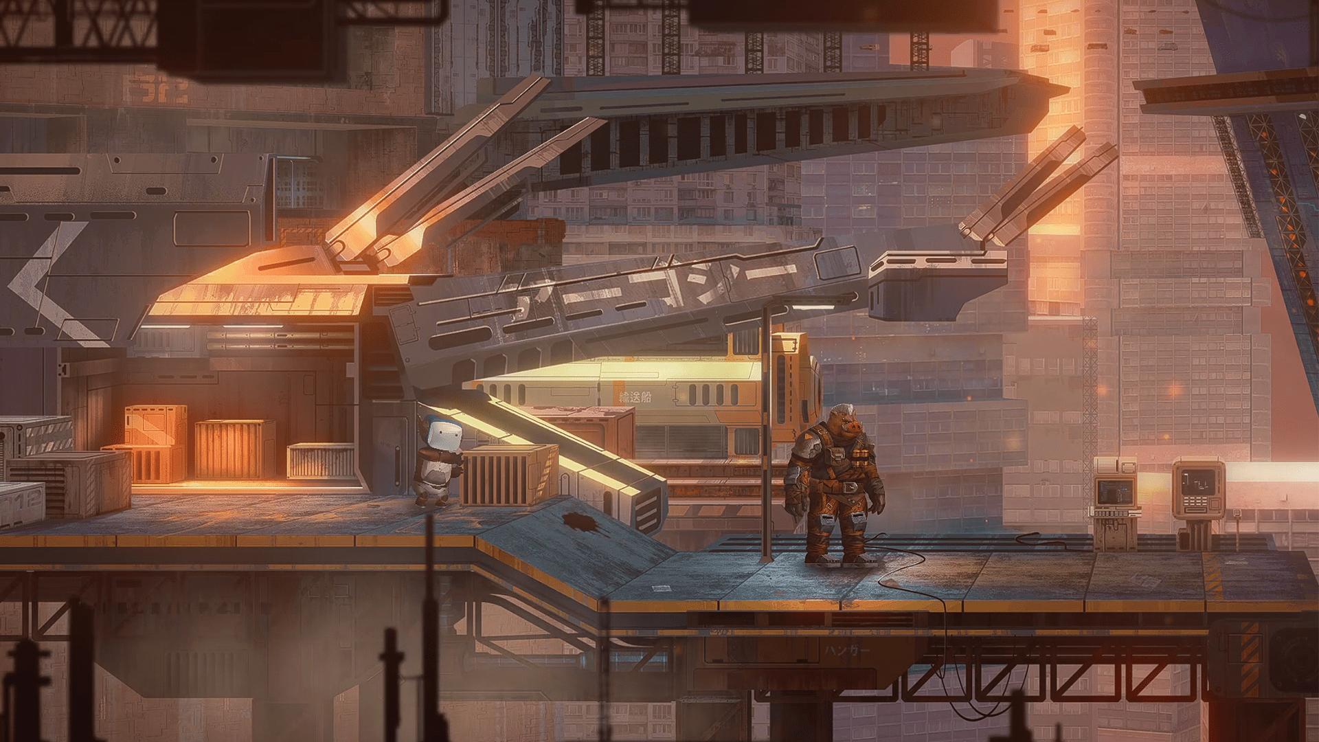 Ukážka z hry Life of Delta.