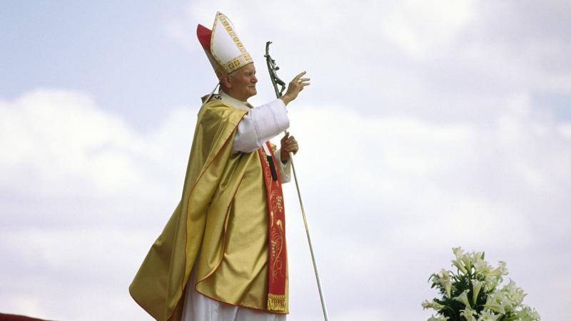 Jan Paweł II,fot.Keith Dannemiller / Newspix.pl