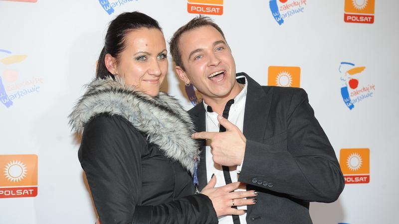 Radek Liszewski z żoną Dorotą (fot. mwmedia)
