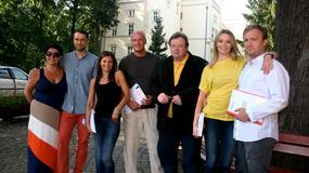 """Kochanie na kredyt"": Lubaszenko, Bobek i Arciuch na planie"