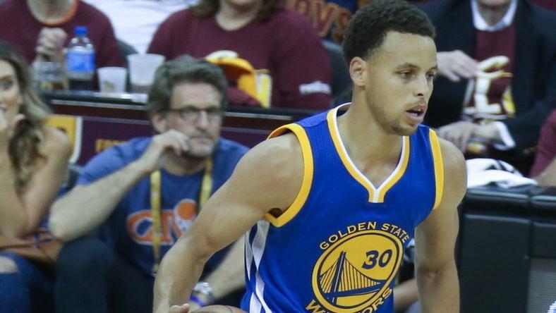 Curry zseniálisan teljesít /Fotó: AFP