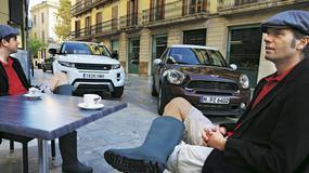 Mini Paceman kontra Range Rover Evoque: terenowe coupe