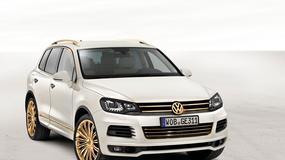 Złoty Volkswagen Touareg dla szejka