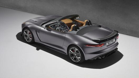 Jaguar potwierdził F-Type SVR. 550 KM to mało