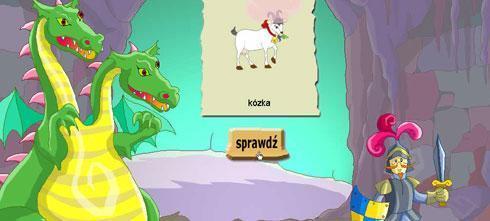 Screen z gry Ortografia dla dzieci: 1-2 klasa