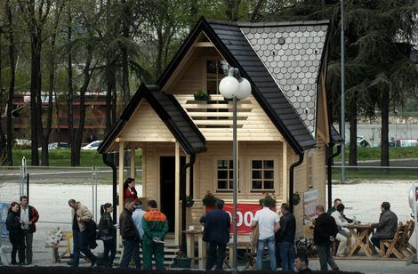 Atraktivna montažna kuća, useljiva za osam dana