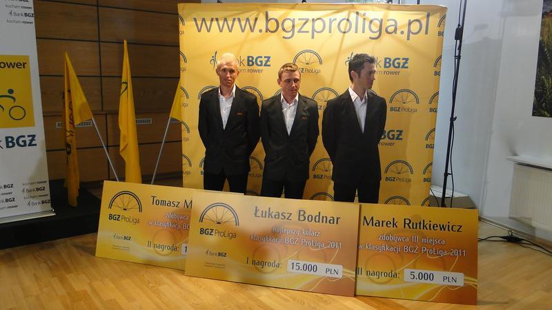 Zwycięzcy BGŻ ProLigi 2011
