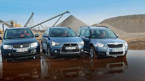 Suzuki Grand Vitara kontra Mitsubishi ASX i Skoda Yeti: kompaktowe terenówki na start