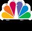 NBC – Biały element loga tworzy pawia, który prezentuje NBC jako głośnego i dumnego nadawcę.