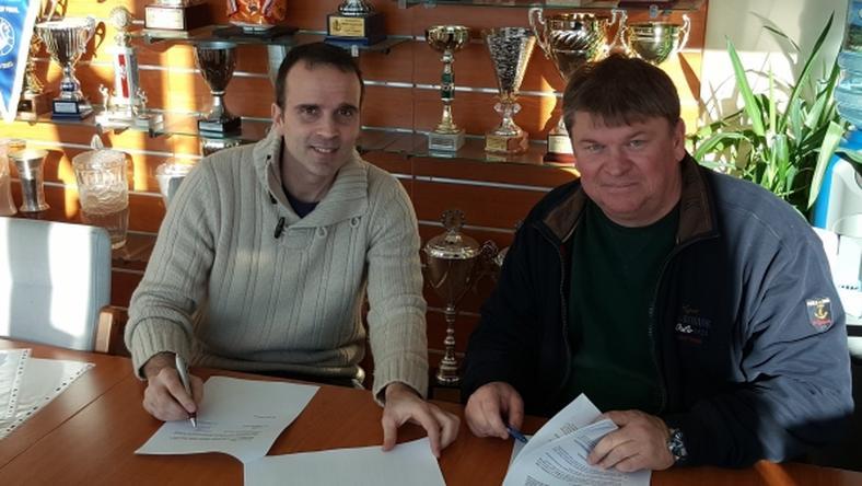 Sabaté már alá is írta új szerződését /Fotó: mkb-mvmveszprem.hu
