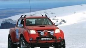 Toyota dowiezie cię na lodowiec