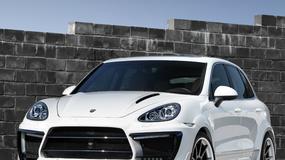 Porsche Cayenne: biały pieprz od Lumma