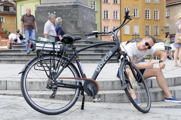 Rower tym razem górą