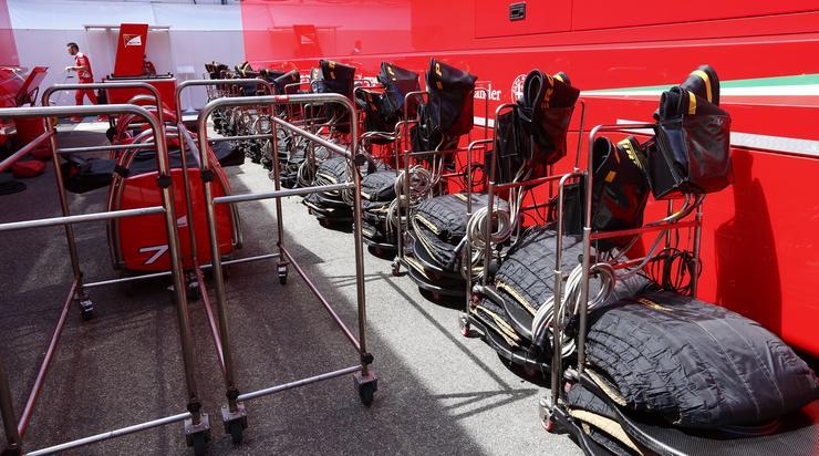 A Ferrarinál minden készen áll /Fotó: Fuszek Gábor