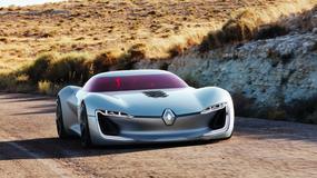 Zachwycające elektryczne Renault Trezor zostało autem koncepcyjnym 2016 roku