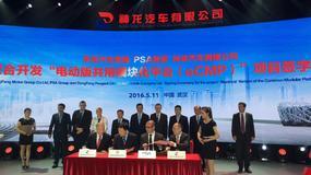 PSA i Dongfeng Motor w służbie e-technologii