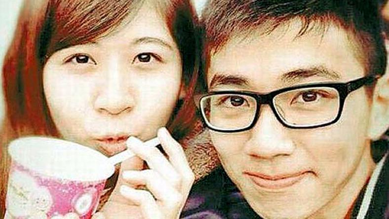 Huang (balra) és Tsai  Meng a jövőt tervezte, de  sorsuk tragikus véget ért  a romok alatt