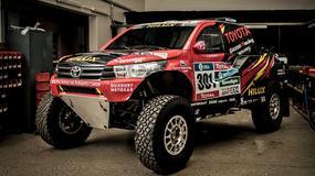 Toyota Hilux Evo w Rajdzie Dakar 2017