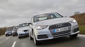 Benzynowe sedany - Audi A4 kontra BMW 318i, Mercedes C 180 i VW Passat