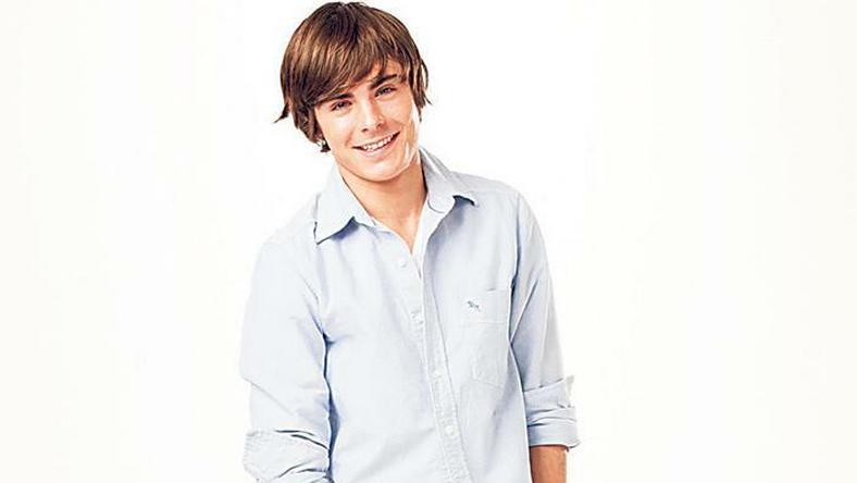 Csenevész A High School Musical forgatásának idején még csak egy vékonyka fiúcska volt Zac Efron Fotók: Northfoto