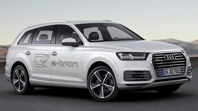Audi Q7 e-Tron - pali 1,7 l/100 km