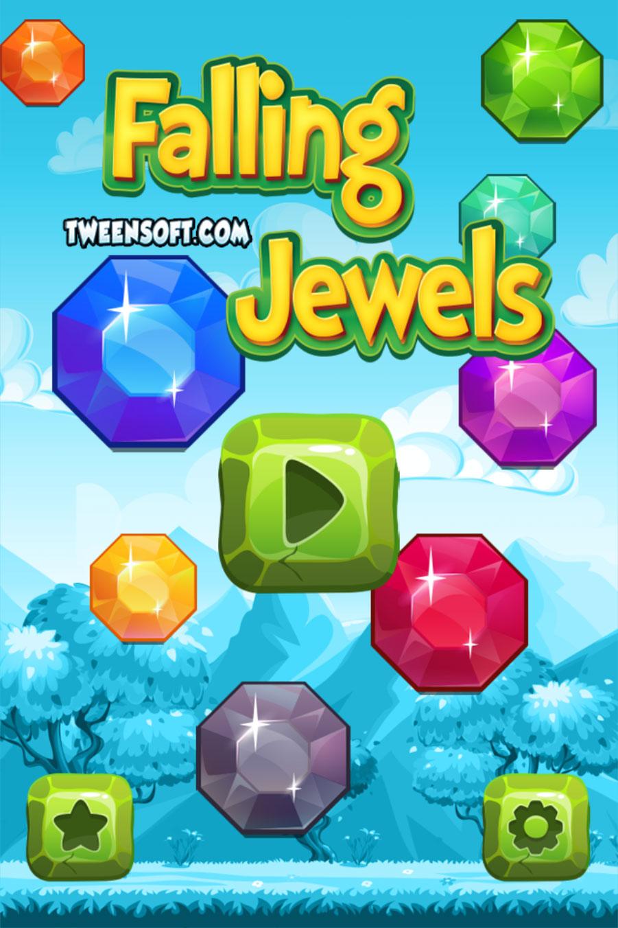 Falling Jewels