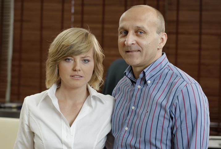 Izabela Olchowicz - Marcinkiewicz i Kazimierz Marcinkiewicz