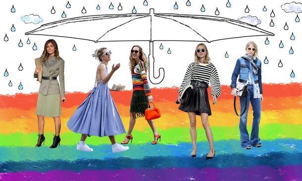 Moda na niepogodę