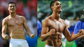 Robert Lewandowski czy Cristiano Ronaldo? Szykuje się wielki pojedynek na wysportowane klaty