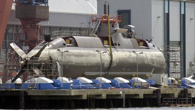 U31-es tengeralattjáró /Fotó: AFP