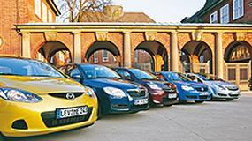 Porównanie 5 miejskich aut - Szukamy najsprytniejszego malucha