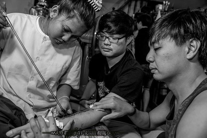 SAK YAN - magia tajskiego tatuażu