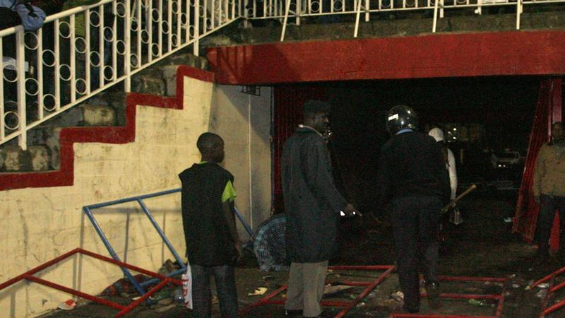 Tragedia przed meczem w Nairobi