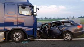 Nietrzeźwy bez prawa jazdy wjechał pod prąd S3 i zmasakrował go TIR