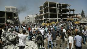 Syria: zamach bombowy przy granicy z Turcją